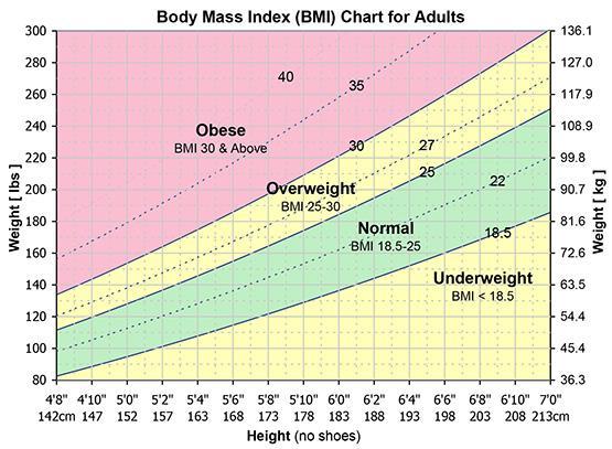 BMI Chart | Calculate Your BMI | Ramsay Health Care