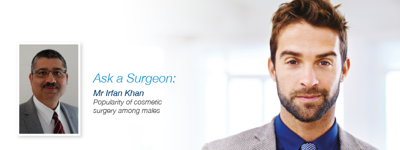 Rising Popularity of Cosmetic Surgery Among Males